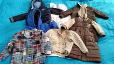 Bundle of Baby Boys Winter Coats from 6 months to 2 years for Toddlers