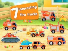 Discount: FireTrucks: 911 rescue (educational app for kids) is now 0.99$ (was 2.99$)