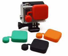 Protective Lens Silicone Cap Case Cover For GoPro Hero 4 3+ Camera Accessories #Unbrand