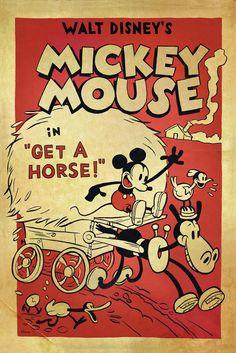 "Twitter / DisneyAnimation: Poster Debut: ""Get A Horse!"" ..."