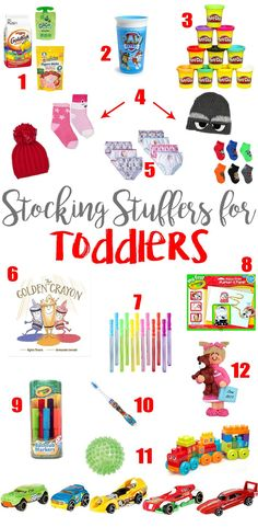 41 Ideas diy kids christmas presents stocking stuffers for 2019 Toddler Christmas Gifts, Toddler Gifts, Holiday Fun, Christmas Holidays, Christmas Crafts, Christmas Morning, Christmas Presents For Toddlers, Christmas Ideas, Kids Presents