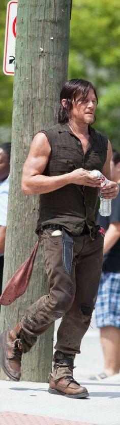 Norman Reedus S5 Filming
