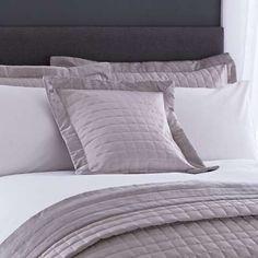 Silver Kensington Cushion
