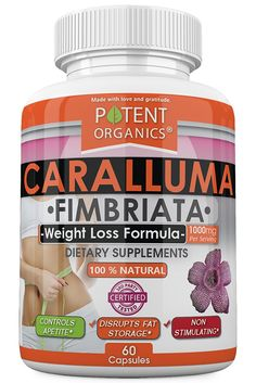 Potent Organics Caralluma Fimbriata Extract - 1000mg (Strongest Formula) - 60 Vegetarian Capsules => Insider's special review you can't miss. Read more  : Weight Management