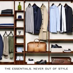 the essentials. never go out of style