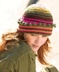 Free Knitting Pattern - Hats: Carousel Hat