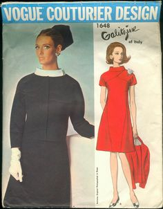 Vogue Couturier Design: Irene Galitzine, Vogue 1648, size 14, bust 34, hip 36, unused with tag