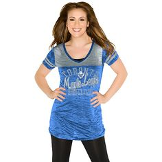 Here's Alyssa again -- she's the personal cheerleader of every sports franchise in existence, including your Toronto Maple Leafs. G-III Toronto Maple Leafs Women's The Coop V-Neck T-Shirt 'Touch' by Alyssa Milano $31.99