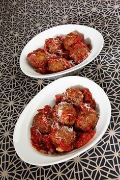 Vegetarian Recipe: Eggplant 'Meatballs'