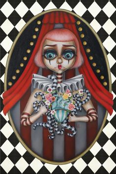 Circus by Lux #oil #painting #surrealism #surreal #circus #popsurreal #lowbrown