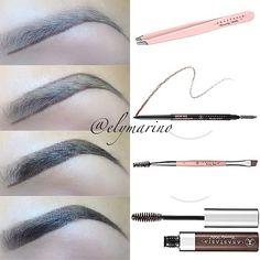 Anastasia Beverly Hills brows ♡ love this Eyebrow Makeup, Skin Makeup, Buy Makeup, Beauty Make Up, Hair Beauty, Eyebrows On Fleek, Eye Brows, Best Eyebrow Products, Makeup Products
