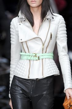 Burberry Prorsum at London Fashion Week Spring 2011. minus the green belt