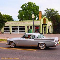 P6234195 Studebaker Hawk | Studebaker Hawk in front of an ol… | Flickr Detroit Steel, Traverse City, Ol, Vintage Cars, Art Deco, Classic Cars, Retro Cars, Art Decor