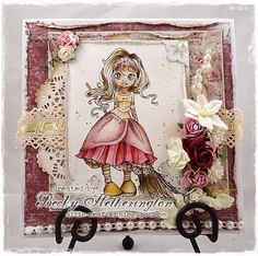 Cards By Becky: Maria Therese's Sketch At Saturated Canary
