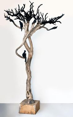 Modern sculptures by Anna Gillespie.
