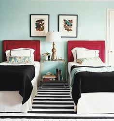 Love this color scheme, maybe for Elsie's room when she is older :)