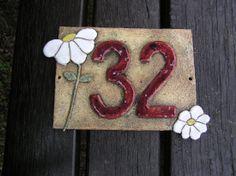 Číslo popisné - na přání, různé druhy keramický obrázek - číslo popisné na přání