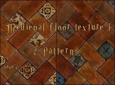 Medieval floor texture 1 (patterns) by jojo-ojoj on DeviantArt Floor Texture, Ps, Medieval, Photoshop, Flooring, Deviantart, Patterns, House, Painting