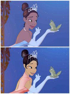 Tiana. Les célèbres héroïnes de Disney sont passées entre les mains d'un illustrateur et le moins que l'on puisse dire, c'est qu'elles sont méconnaissables ! En effet, ce dernier a changé leurs origines.