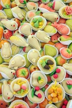 "Portuguese Delights, ""Doces do Algarve"", made out of almonds and marzipan."