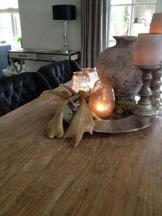 Decoratie eettafel