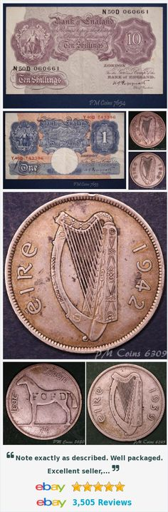 Ireland - Coins and Banknotes, UK Coins - Half Crowns items in PM Coin Shop store on eBay! http://stores.ebay.co.uk/PM-Coin-Shop/_i.html?rt=nc&_sid=1083015530&_trksid=p4634.c0.m14.l1513&_pgn=5