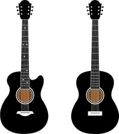 Guitarra elctrica instrumento musical vector  VECTORES
