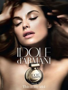 d' - this will make your wildest dreams come true.(well it did for me :p! Perfume Armani, Armani Fragrance, Perfume Adverts, Armani Brand, Perfume Reviews, Beauty Ad, Armani Beauty, Idole, Antique Perfume Bottles