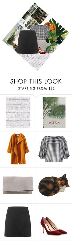 """""""31.3.17"""" by yoyoyoyogangsterbobcat on Polyvore featuring Milton & King, ...Lost, Taschen, Sonia Rykiel, Maiyet, Topshop and Gianvito Rossi"""