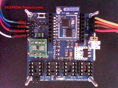 #WIFI #Battery Monitor System - #ESP8266