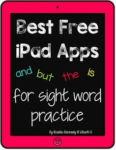 Best FREE iPad apps for practicing sight words