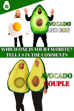Avocado Costume, Costume Collection, A Funny, Your Favorite, Egg, Range, Couple, Costumes, Suits