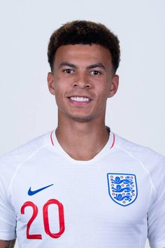 Dele Alli of England poses for a portrait during the official FIFA World Cup 2018 portrait session at on June 13 2018 in Saint Petersburg Russia