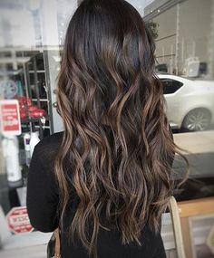 Espresso Brunette Blend ☕️☕️☕️ Color by @colormemimi  #hair #hairenvy #haircolor…