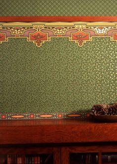 Bradbury & Bradbury | Arts & Crafts | Forest Green Colorway