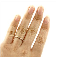 Beverly Hills Charm 14k Yellow Gold 1/2ct TDW Diamond Eternity Stackable Band Ring (H-I, I2-I3) - Overstock Shopping - Big Discounts on Beverly Hills Charm Women's Wedding Bands