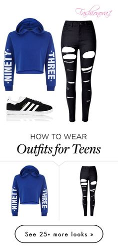 """""""Made in geography """" by fashionova1 on Polyvore featuring New Look, WithChic and adidas"""