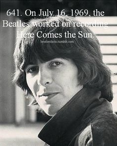 Beatles Facts! Amazing George Song <3