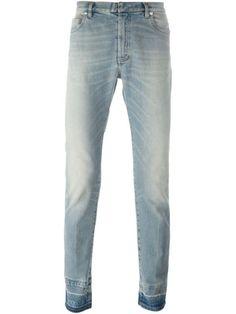 Maison Margiela contrast cuff jeans