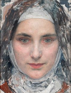 Tête de jeune fille (1932)    Edgar maxence (Nantes 1871 - 1954 la bernerie)