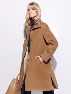 camel swing coat - Google Search