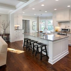 Traditional Kitchen by Replacement Housing Services Consortium  KITCHEN ISLAND CONCEPT