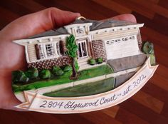 CUSTOM HOUSE ORNAMENT  2013 spaces are available by BellStation, $73.00