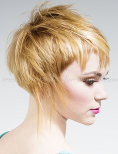 short + hairstyles + short + haircut + – + short + hairstyle – Hairstyle Fringe – - New Site Medium Hair Styles For Women, Short Hair Cuts For Women, Pixie Haircut, Haircut Short, Short Haircuts, Corte Y Color, My Hairstyle, Hair Photo, Great Hair