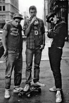 "aiiaiiiyo: ""Beastie Boys just chillin' (1980) Check this blog! """