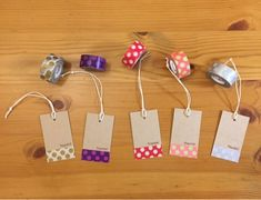 """""""Special Feature Made Using Masking Tape"""" ① Tapas, Chocolate Card, Card Factory, Diy And Crafts, Paper Crafts, Play Shop, Paper Punch, Masking Tape, Card Tags"""