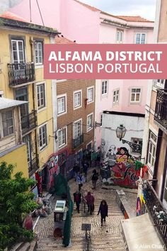 Explore historic Alfama District on your weekend in Lisbon Portugal with this guide of where to stay, what to see, and best of all what to eat. #travel #Lisbon #Portugal #Belem Road Trip Europe, Europe Travel Tips, New Travel, Travel Advice, Travel Guides, Portugal Travel Guide, Southern Europe, Portuguese Recipes, Pastel De Nata