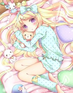 Adorbs. I want some pj's like these! ;3