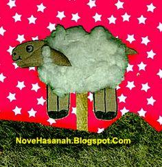 Nove Hasanah: Cara Membuat Boneka Domba dari Kardus