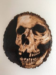 A personal favorite from my Etsy shop https://www.etsy.com/listing/537024990/skull-woodburning